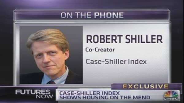 Shiller: Housing Recovery Still Has Legs