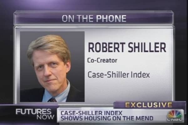 Shiller: Housing Recovery Still Has Legs