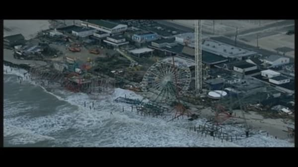 Sandy's Devastation from the Air