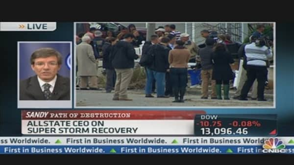 AllState CEO on Super Storm Recovery