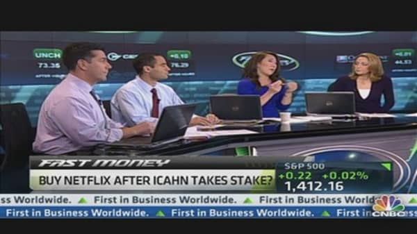 The Netflix Trade After Icahn's Big Buy