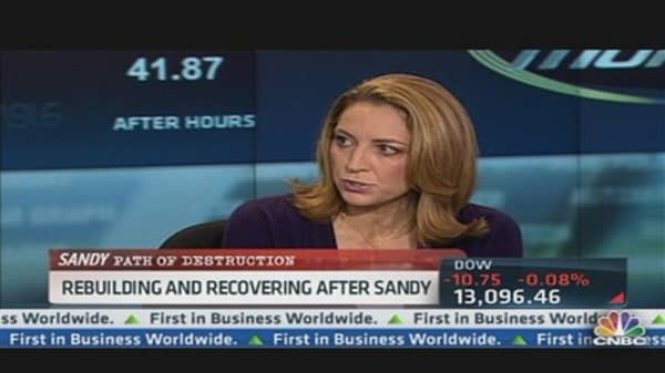 Stock Names to Watch After Sandy