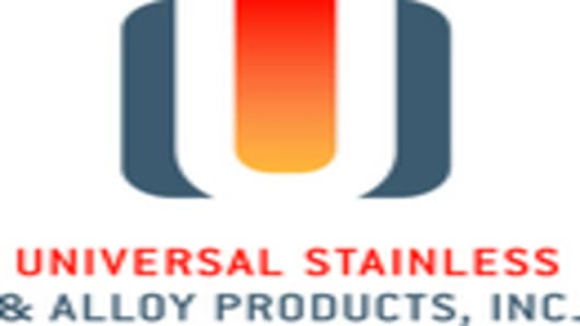 Universal Stainless & Alloy Products, Inc. Logo