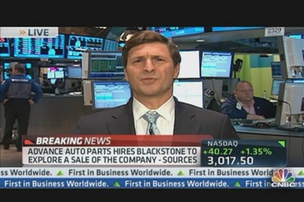 Advanced Auto Parts Hired BlackStone to Explore Sale