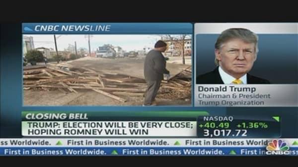 Donald Trump: Hurricane Sandy Positive for Obama