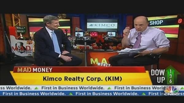 Kimco Realty CEO: Shopping Center Industry Recovering
