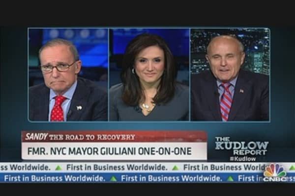 Giuliani: Nation Will Be Amazed By NYC Resiliency