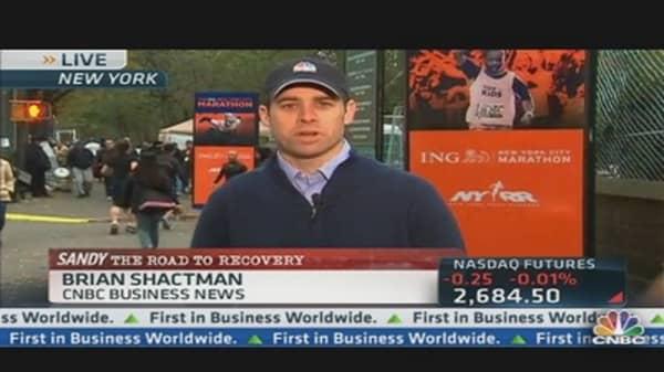 Controversial Call on NY Marathon