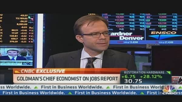 Goldman's Chief Economist on Jobs Report