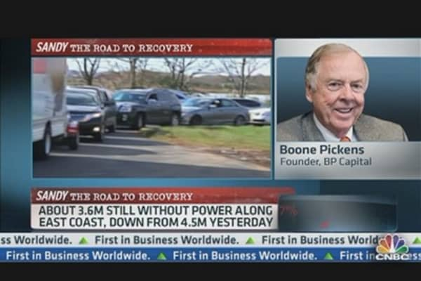 Boone Pickens on Gas Crisis in Northeast
