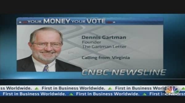 Gartman: I am Dismayed at Obama Win