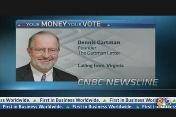 Gartman: I am Dismayed at Obama Win
