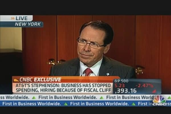 AT&T Chairman & CEO: 'We Are Not Behind Japan'