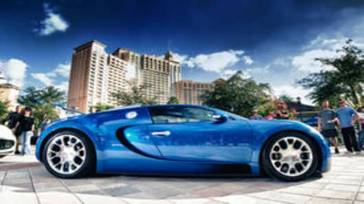 Bugatti Veyron at the Festivals of Speed Orlando Car Show