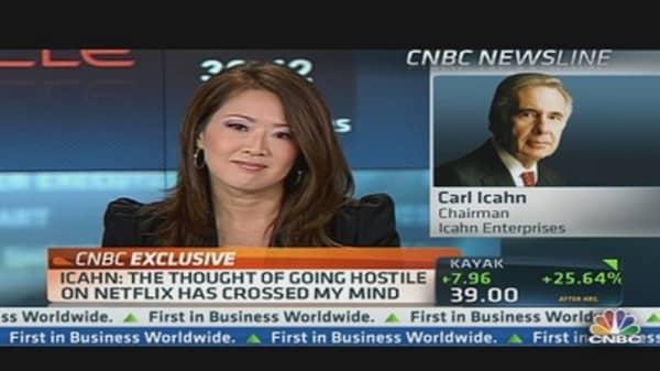Carl Icahn Calls Netflix Move 'Reprehensible'