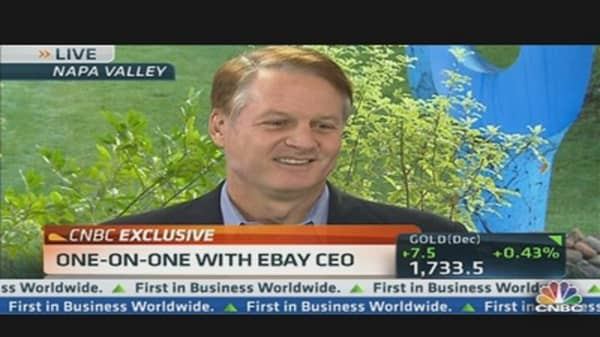 Monetizing the App World With eBay's CEO
