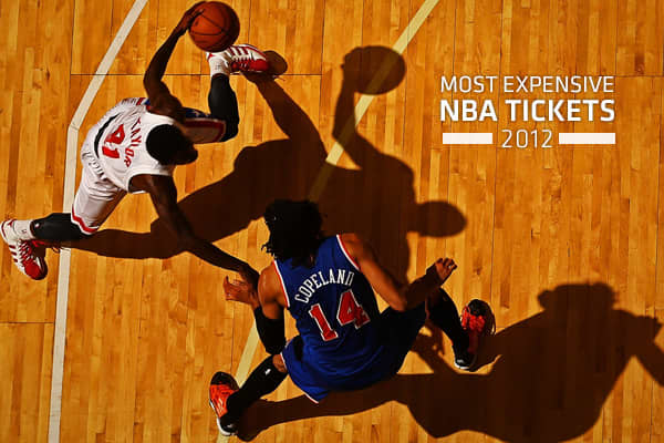 Most Expensive NBA Tickets