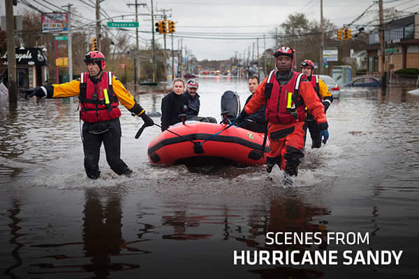 Scenes From Hurricane Sandy