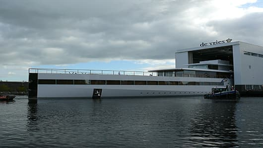 Steve Jobs's 256-Foot Yacht Launches Posthumously