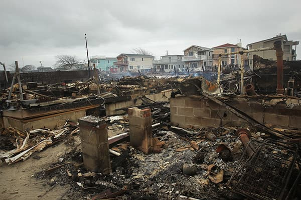Scenes From Hurricane Sandy
