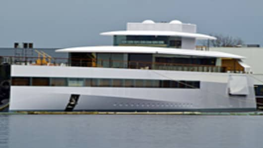 Steve Jobs's 256-Foot Yacht Launches Posthumously