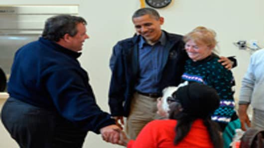 Obama and Christie Make Unlikely Traveling Companions