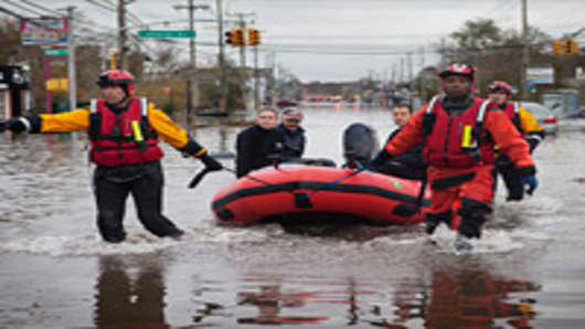 Sandy's Economic Cost: Up to $50 Billion and Counting