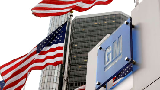 GM's headquarters in Detroit
