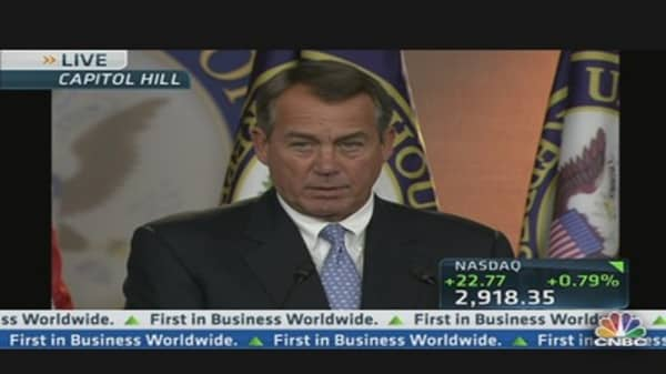 Boehner on 'Simpler, Cleaner, Fairer' Tax Code