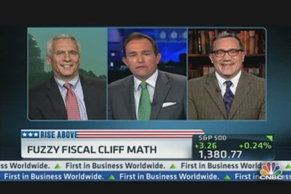 Fuzzy Fiscal Cliff Math