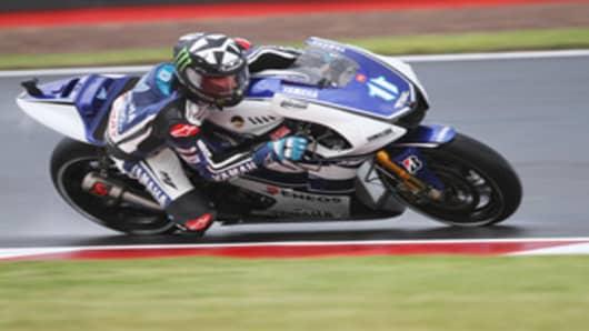 Texas Rider Ben Spies competes in the MotoGP series.