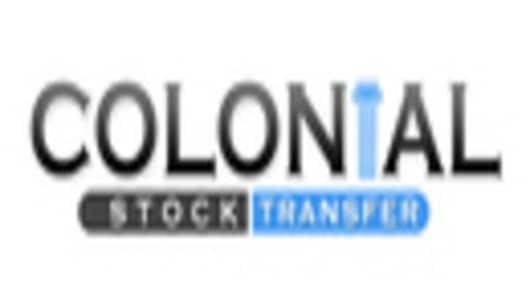 Colonial Stock Transfer Logo