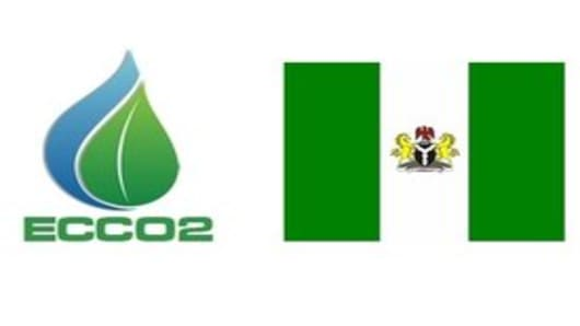 ECCO2 and Nigeria logo