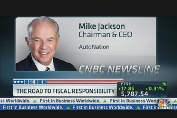 AutoNation CEO on the Road to Fiscal Responsibility