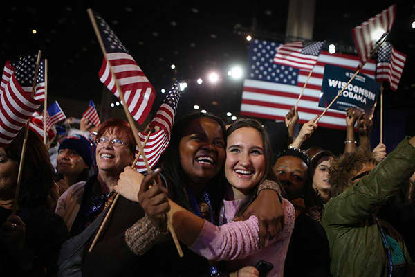 America Votes: Scenes From the 2012 Election