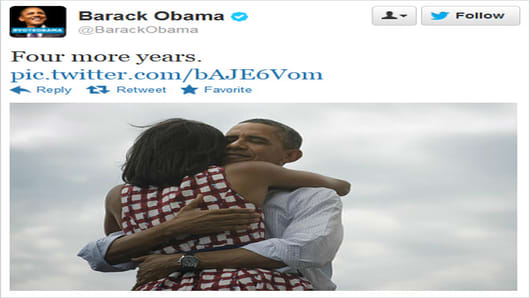 President Obama Sets New Social Media Record