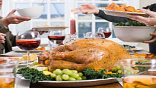 Turkey Prices Gobble Up More of Thanksgiving Budget