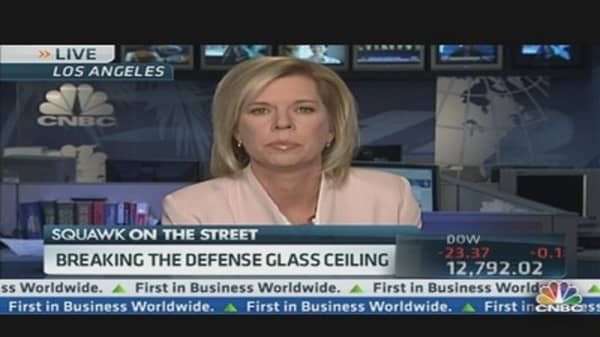 Is the Defense Sector the New 'Girls Club?'