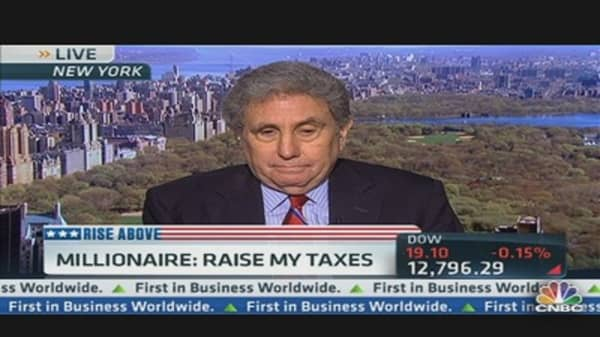 This Millionaire Says, 'Raise My Taxes!'