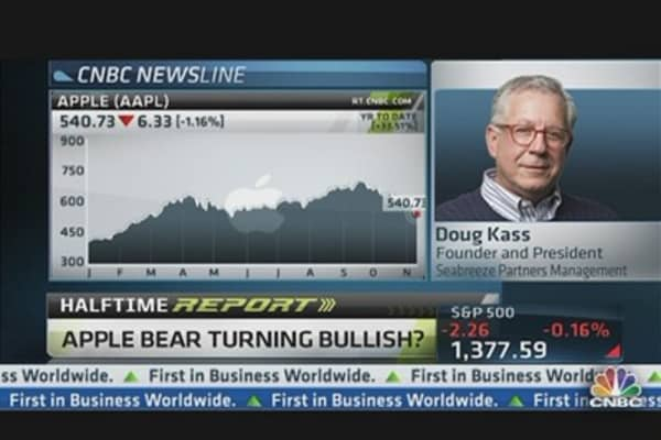 Apple Bear Doug Kass Turns Bullish on Stock
