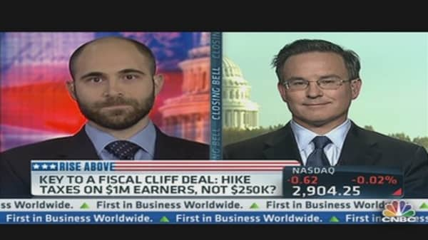 Key to Fiscal Cliff Deal: Hike Taxes?