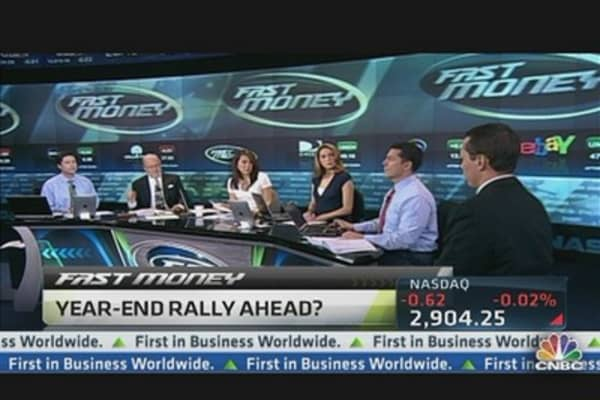 Charts Suggest Year-End Rally: Technical Analyst