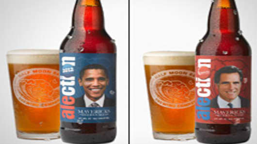 Obama Leading Romney in Craft Beer 'Alection'