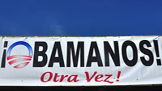 Latinos' Improving Finances May Swing Key States
