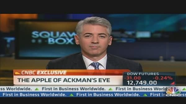 Ackman Won't Give Up on JC Penney Yet