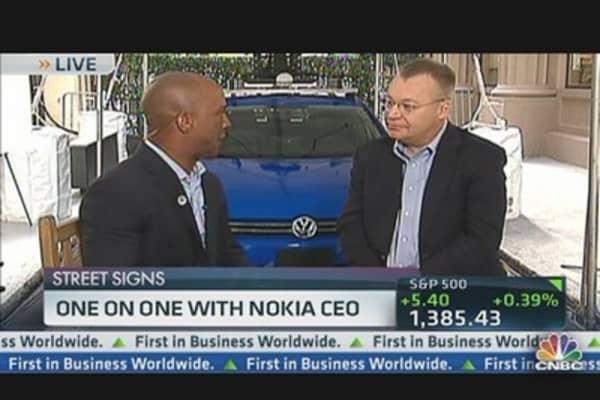 Nokia Betting on Windows