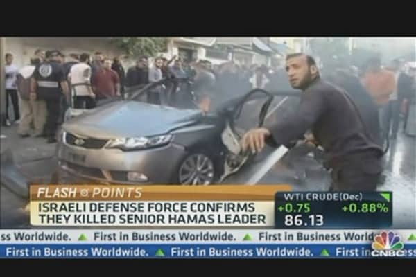 Hamas Leader Killed