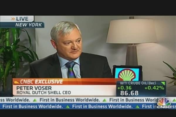 Bringing New Energy Sources to Market: Shell CEO