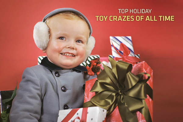 Top Holiday Toy Crazes of All Time