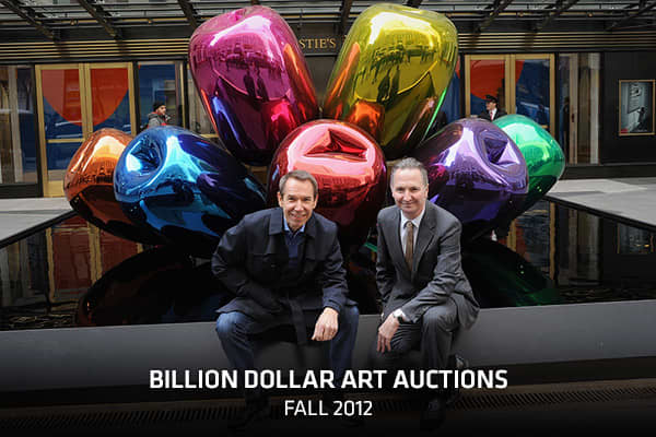Billion Dollar Art Auctions: Fall 2012